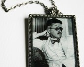James Joyce Romantic Poet Necklace