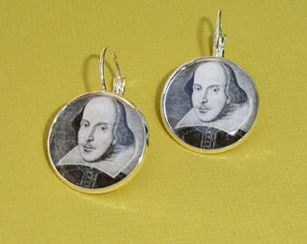 William Shakespeare Earrings