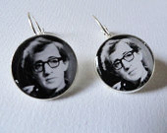 Woody Allen Hollywood Director Earrings