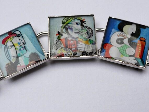 Pablo Picasso Portrait Bracelet