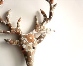 mr stag plush wall hanging MADE TO ORDER