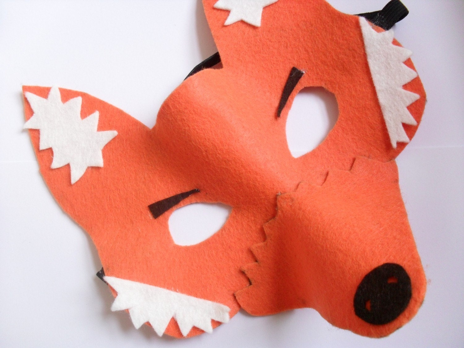 This is a picture of Sizzling Printable Fox Mask