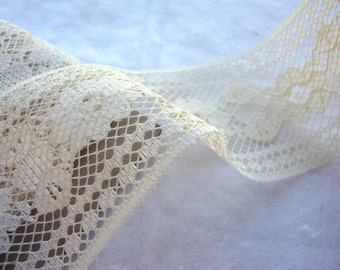 LACE --BEIGE   2in wide  -- (132 inches - 3.67 yards)
