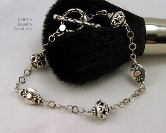 Bali Sterling Silver Bracelet