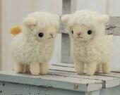 DIY handmade felt wool Sheep Friends Japanese kit package