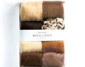Japanese Hamanaka Felt Wool 8 color Set. H441-121-3