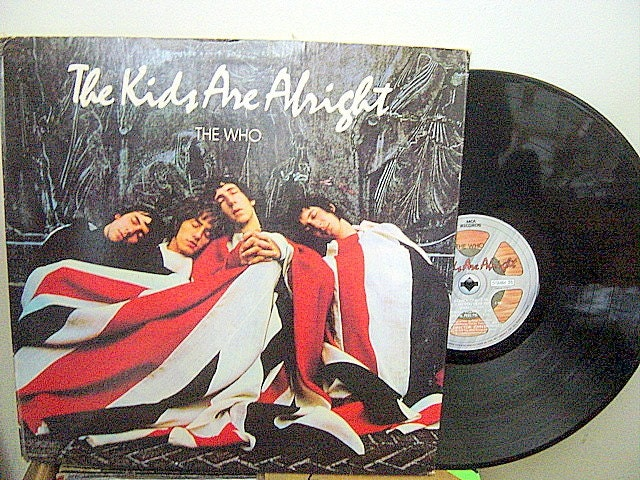 The Who The Kids Are Alright Lp Vintage Vinyl By Hamiltonhobo