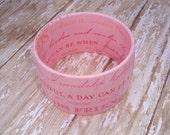 Friendship Bracelet Plus Size (Pink)