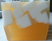 Handmade Vegan Soap Bar - Orange Creme - 6 ounces
