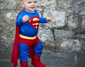 Superman Inspired Baby/Toddler