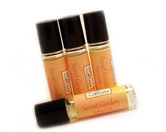 Secret Garden Perfume Oil - Feminine Floral Roll On Perfume Oil