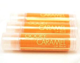 CLEARANCE SALE - Caramel Lip Balm - Ooey, Gooey Caramel Flavored Lip Gloss