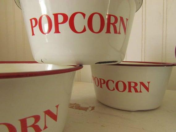 Vintage Popcorn Bowls 48