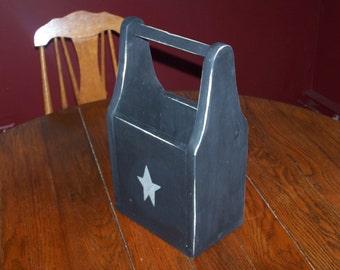 Primitive Style Decrotive Storage Box