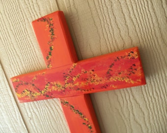 Festive And Floral Cross