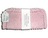 Breast Cancer Awareness, Think Pink Hand Knit Dish Cloths  For your Friend for Life - SydneyKathryns