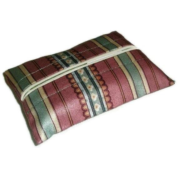 Travel Tissue Holder, Personal Size Purse Kleenex Holder, Travel Tissue Cozy