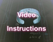 Video Instructions for Crop Circle Bracelet
