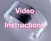 DIY - Video Instructions - How to Make Overlay Bracelet