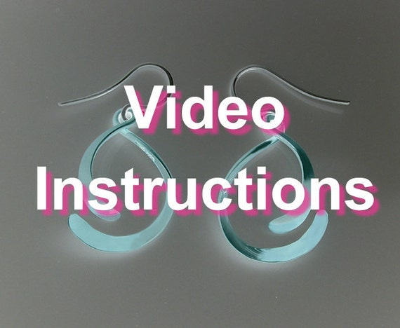 Video Instructions - How to Make The Golden Mean Earrings