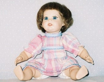 Handmade Porcelain Doll. ON SALE NOW.