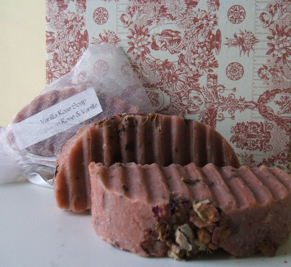 Pink Vanilla Rose Eco Friendly Soap