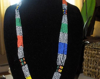 Vibrant Beaded Necklace