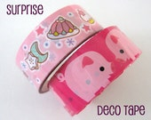 Surprise Me - Small Pattern Deco Tape by glamazon08 on Etsy