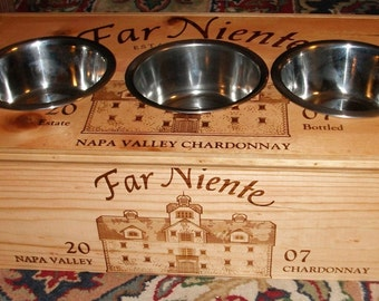 Far Niente Triple Feeder w/3-1qt Bowls
