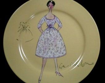 Series III Vintage Fashion Salad Plate