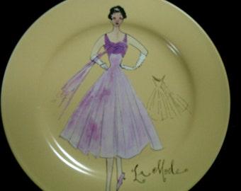 Series IV Vintage Fashion Plate