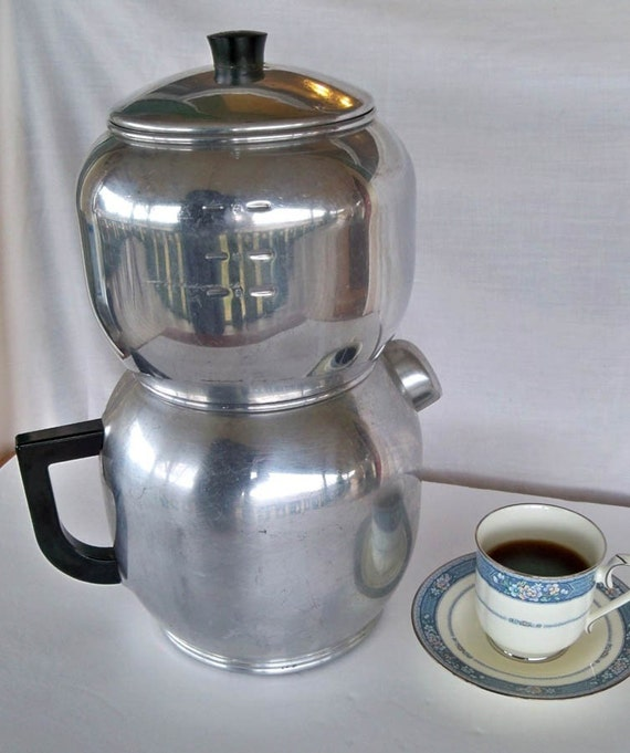 Vintage West Bend Kwik Drip 18 Cup Coffee Maker By