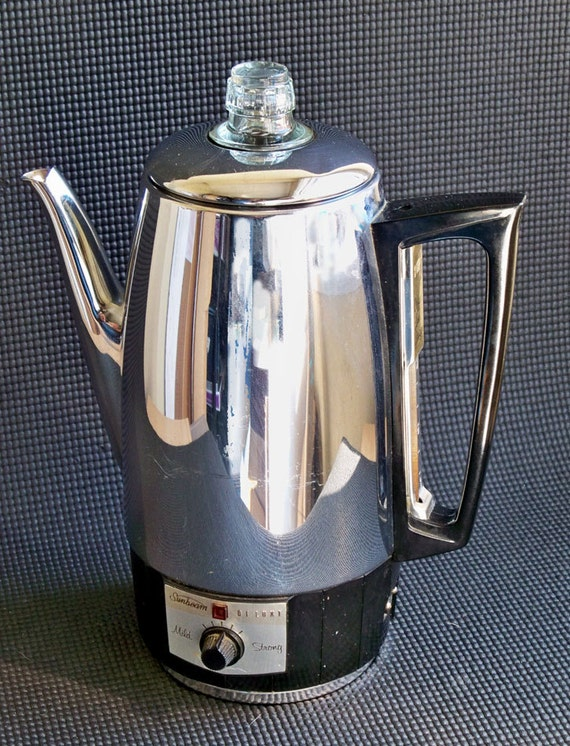 Sunbeam Percolator Coffee Maker : Vintage Sunbeam Deluxe Coffeemaster 9-Cup by coffeetropolis