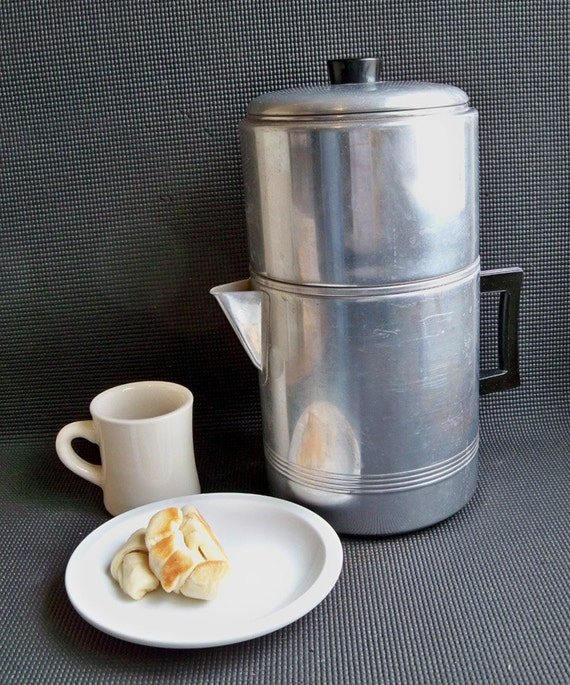 Vintage 18-Cup Drip-O-Lator Coffee Maker Extra by coffeetropolis