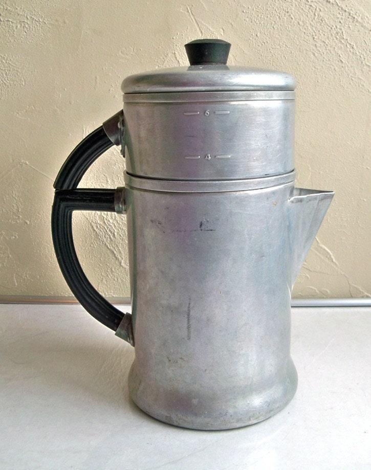 Old Time Coffee Maker : Vintage WearEver Model 966 Drip Coffee Maker by coffeetropolis