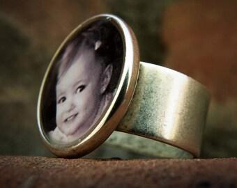 Custom Photo Ring