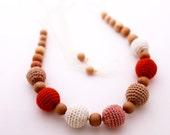 Mom Nursing necklace / Teething necklace
