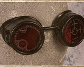 """Pair of """"Scientist"""" Style Goggle Lenses"""