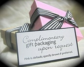 TEN small jewelry gift boxes--gift packaging--choose pink or brown