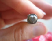 USED 3mm Solid Heart Design Stamp -- Hand Stamping Tools