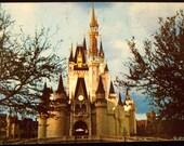 Cinderella's Castle Walt Disney World Vintage Postcard