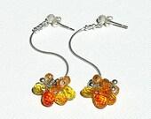 Wild Citrus Wildflower Earrings