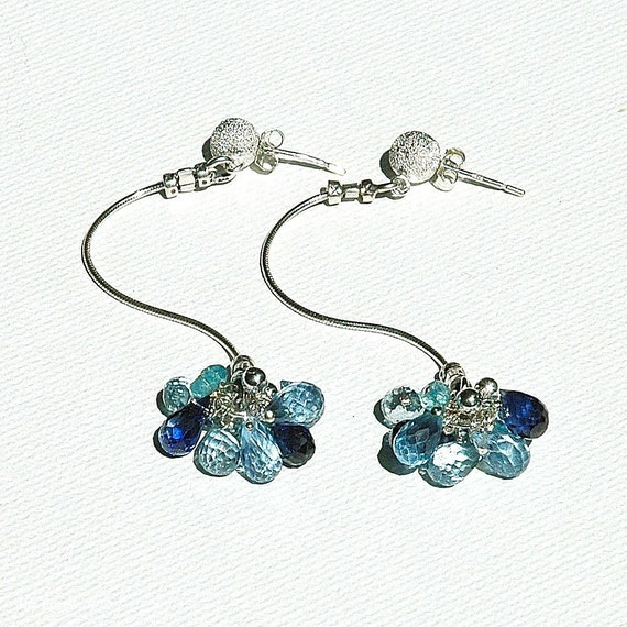 Wild Blueberry Wildflower Earrings