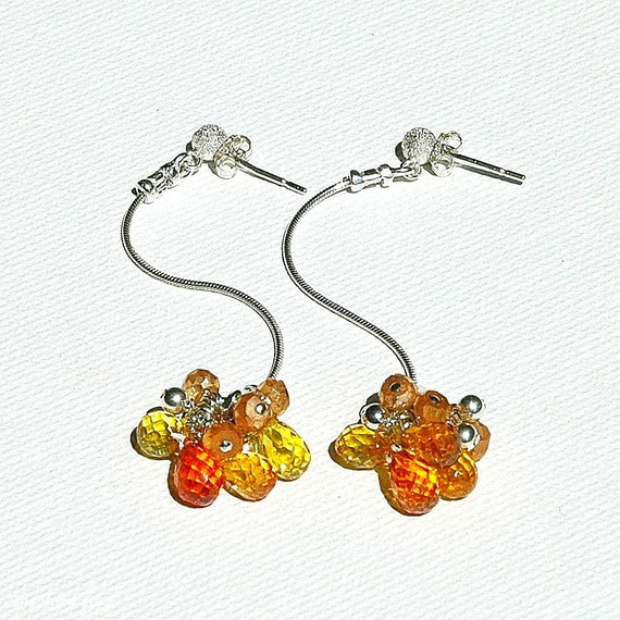 Wild Citrus Wildflower Earrings