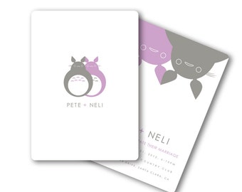 Totoro Inspired Anime Wedding or Bridal Shower