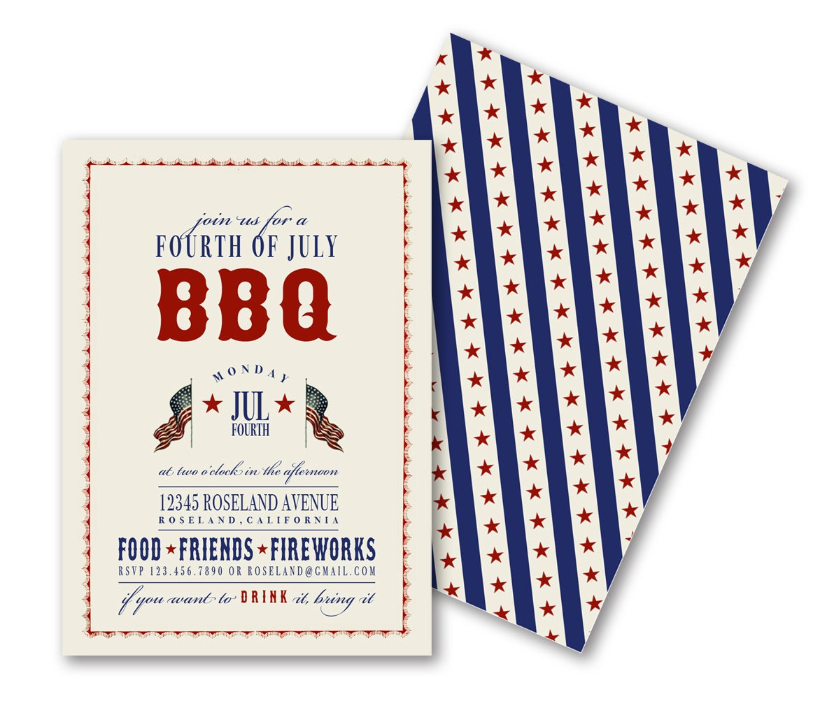 free bbq invitation template memorial day barbecue flyer card