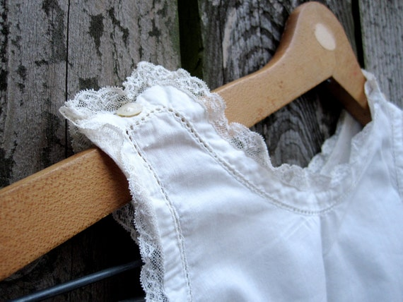 Gorgeous Hand Stitched Vintage Infant's Gown