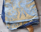 Reserved for Michelle Fortuny fabric vintage 1920s Olympia pattern unused over 5 yards