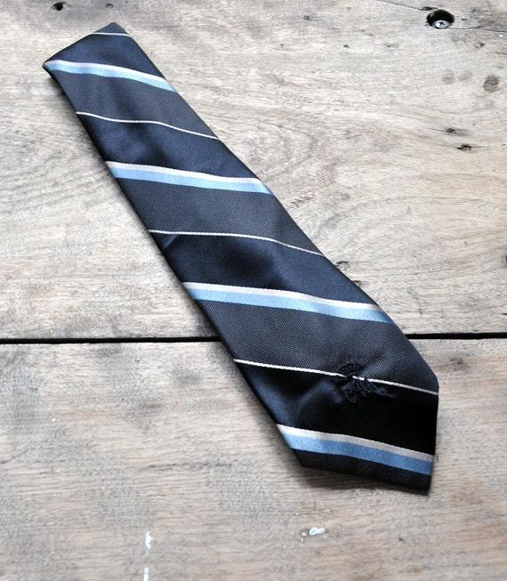 Silk 80s Countess Wara Tie black