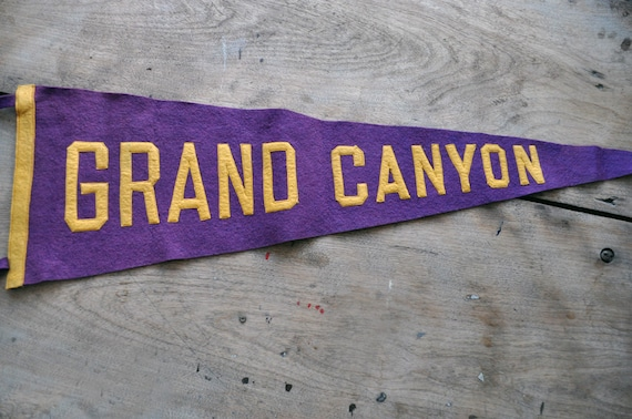 1920s Grand Canyon Pennant